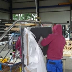 Geländer selber bauen durch einfache Montage